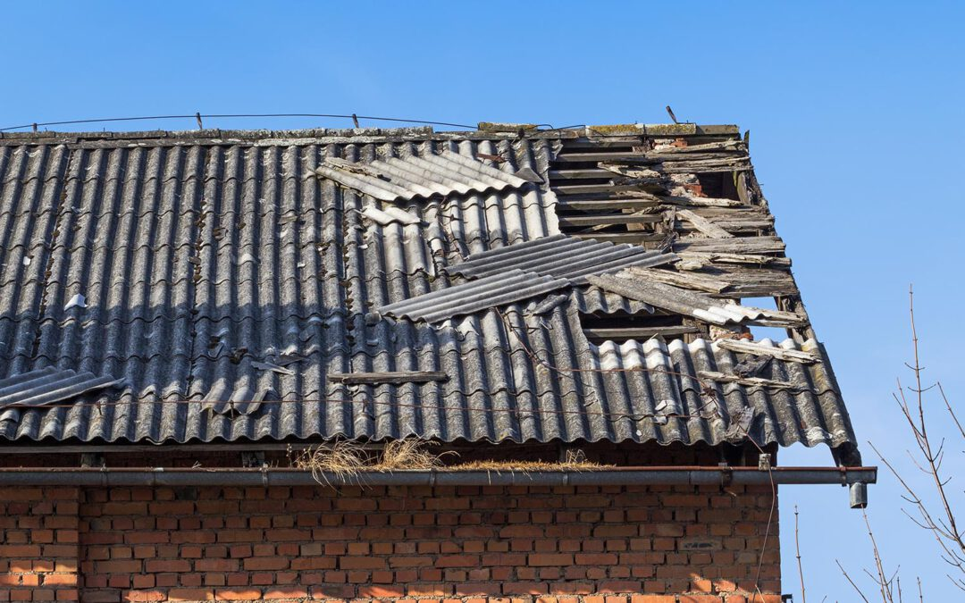 Eliminación de asbesto