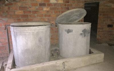 Depósito de uralita